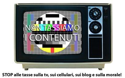 Non tassiamo i contenuti
