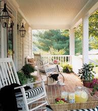 En mysig sommar veranda