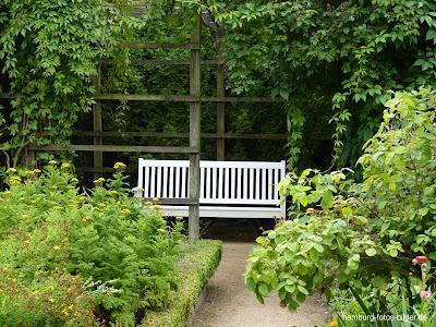 Parkbank, Botanischer Garten, Hamburg