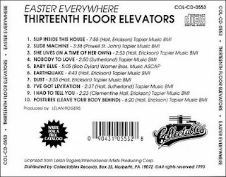 Psychedelic mind for 13th floor elevators easter everywhere