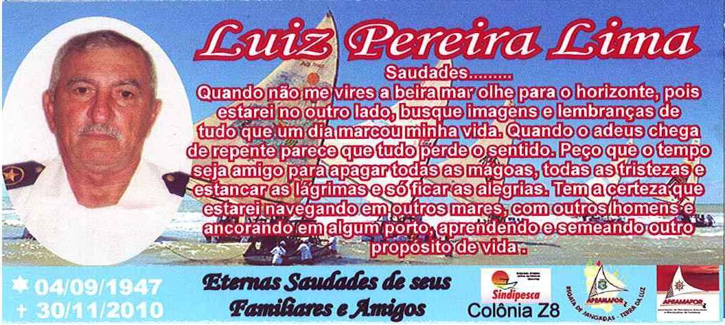 Missa De 7   Dia   Luiz Pereira Lima