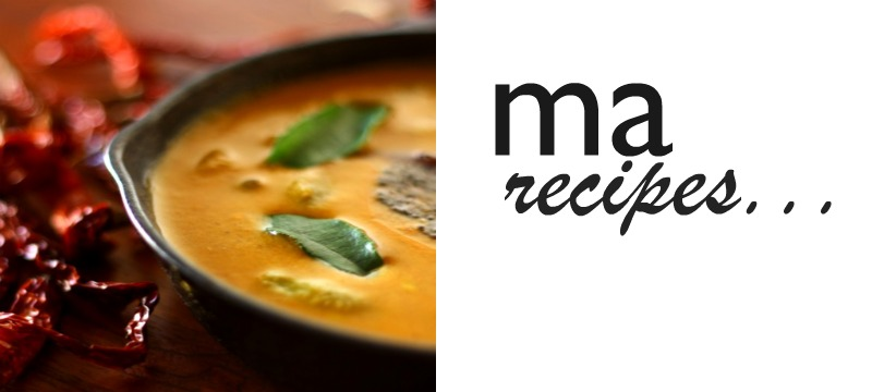 Ma recipes