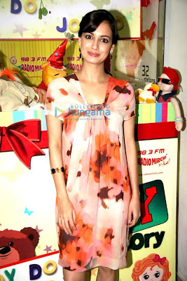 Dia Mirza celebrates 98.3 FM Radio Mirchi's 8th birthday with NGO kids image