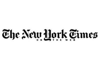 new york times logo. new york times logo.
