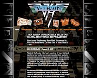 Van Halen 公式サイト