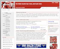 Van Halen のファンサイト