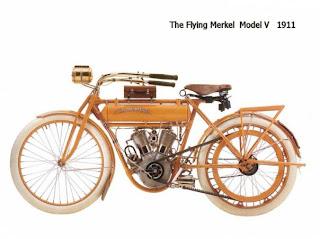 motor flying merkel model v 1991