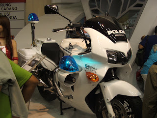 honda fzr Motorcycle police departement