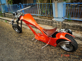 Vespa Art Chooper Modification