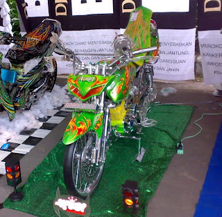 picture honda megapro contest karang anyar