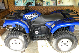 photo review :yamaha ATV grizzly