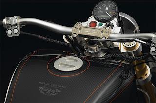 luxury Ecosse's Heretic motorcycle 2010