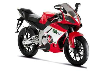 motorbike red bimota wallpaper