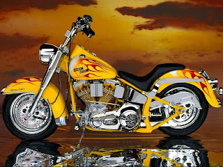 custom chrome harley davidson wallpaper