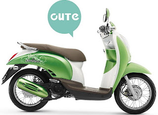 honda-scoopy green