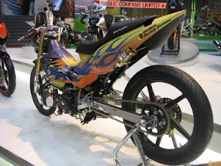 Modifikasi Honda Supra FU 170cc