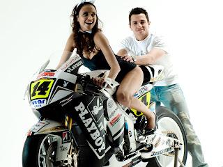 hot girl Playboy models motor Honda