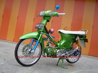 honda gran modifikasi green air brush