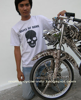modif YAMAHA RX KING airbrush extreme - the best motor modification