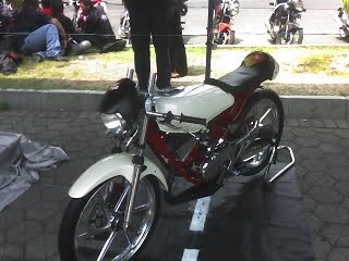 Yamaha King Supermoto Modif Contest Design