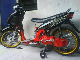 Top modifikasi mio automatic 2010