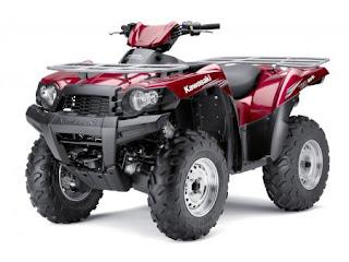 ATV Kawasaki Brute Force 750 2011 design