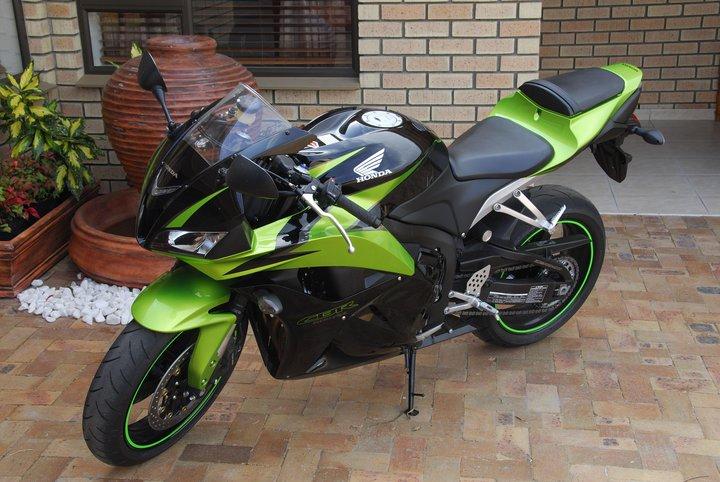 contoh modifikasi motor honda green