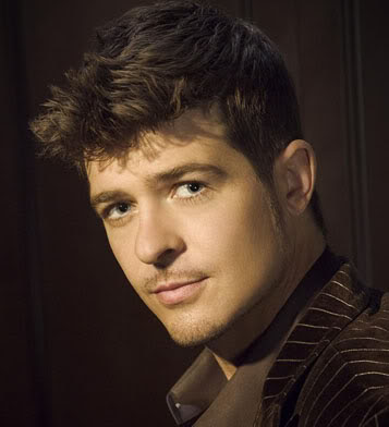 Robin Thicke Hairstyle Evolution