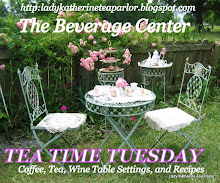 TEA TIME TUESDAY WITH LADY KATHERINE OF LADY KAHTERINE'S TEA   PARLOR