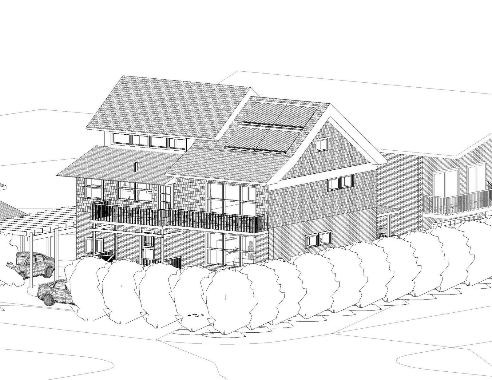 Passive house toronto 2010 for Clerestory roof design