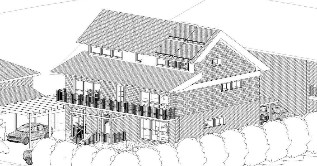 Passive house toronto slit roof with clerestory windows for Clerestory roof design