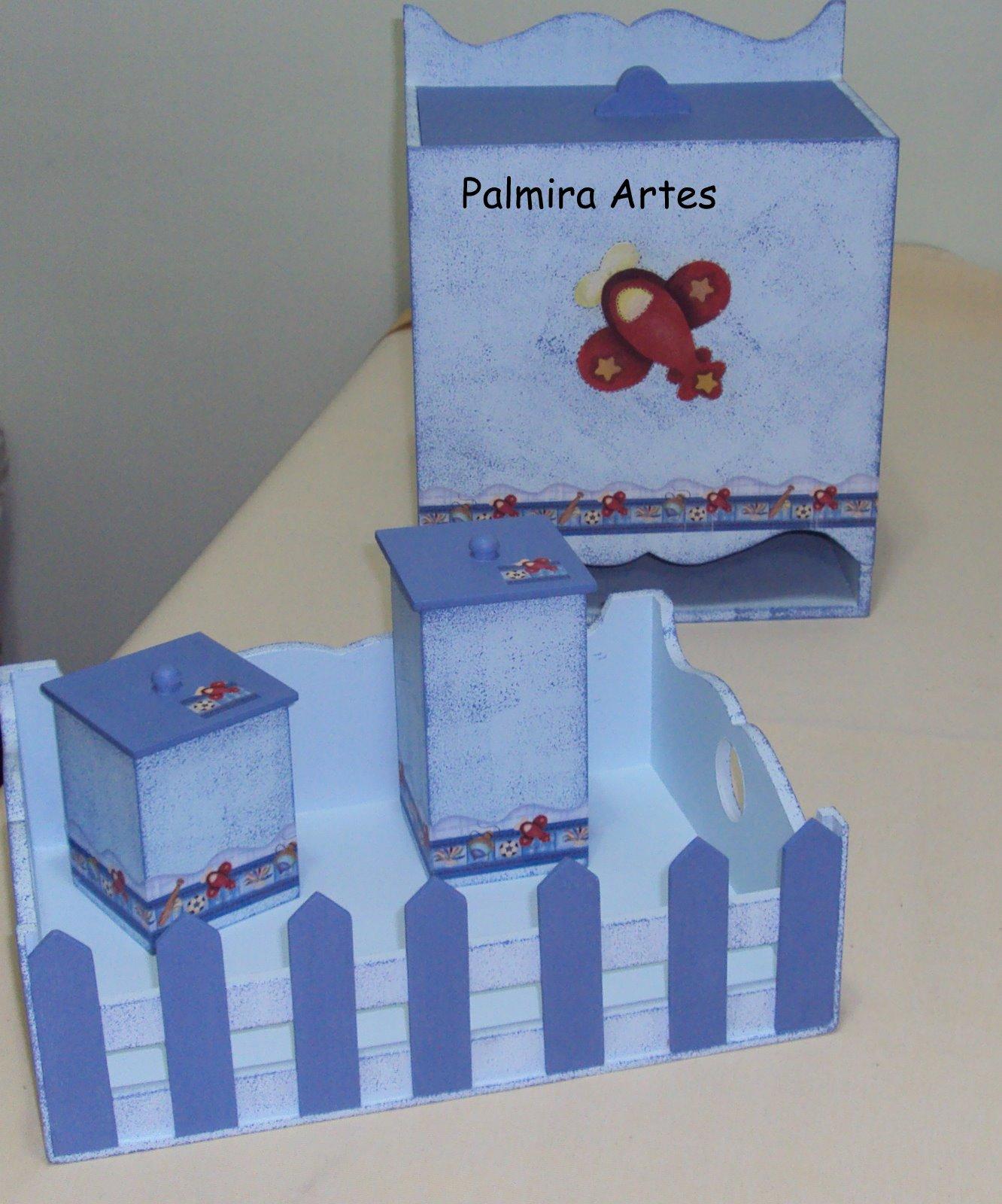 Anel Aparador Ouro ~ Palmira Artesanato Kit para quarto de bebe