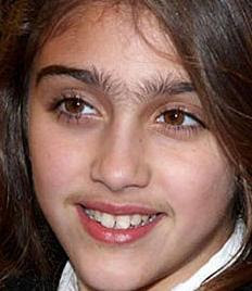 Think, that madonna s daughter eyebrows well. Excuse