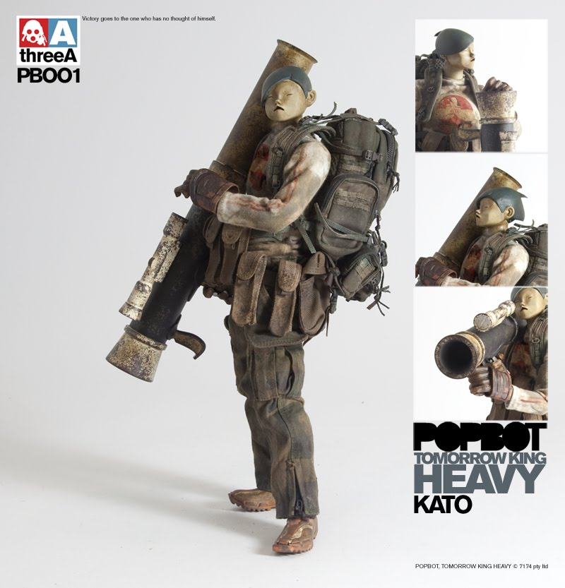 3A toys by Ashley Wood Kato