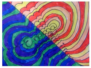 Warm Cool Color Name Designs 3rd 4th Grade