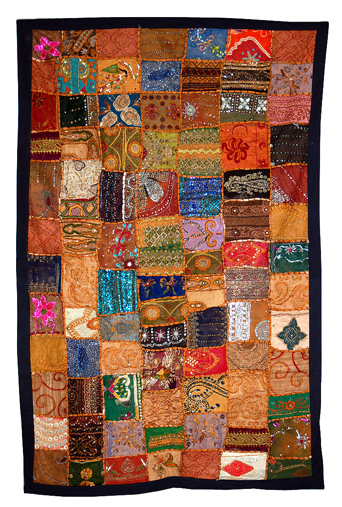 Jaipur rajasthani indian wall hangings tapestry for Decor india jaipur