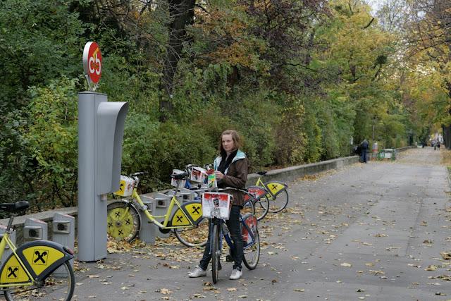прокат велосипедов в Вене