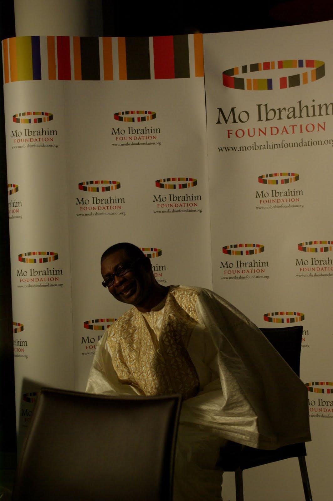 ubuntu platform  mo ibrahim foundation event in tanzania