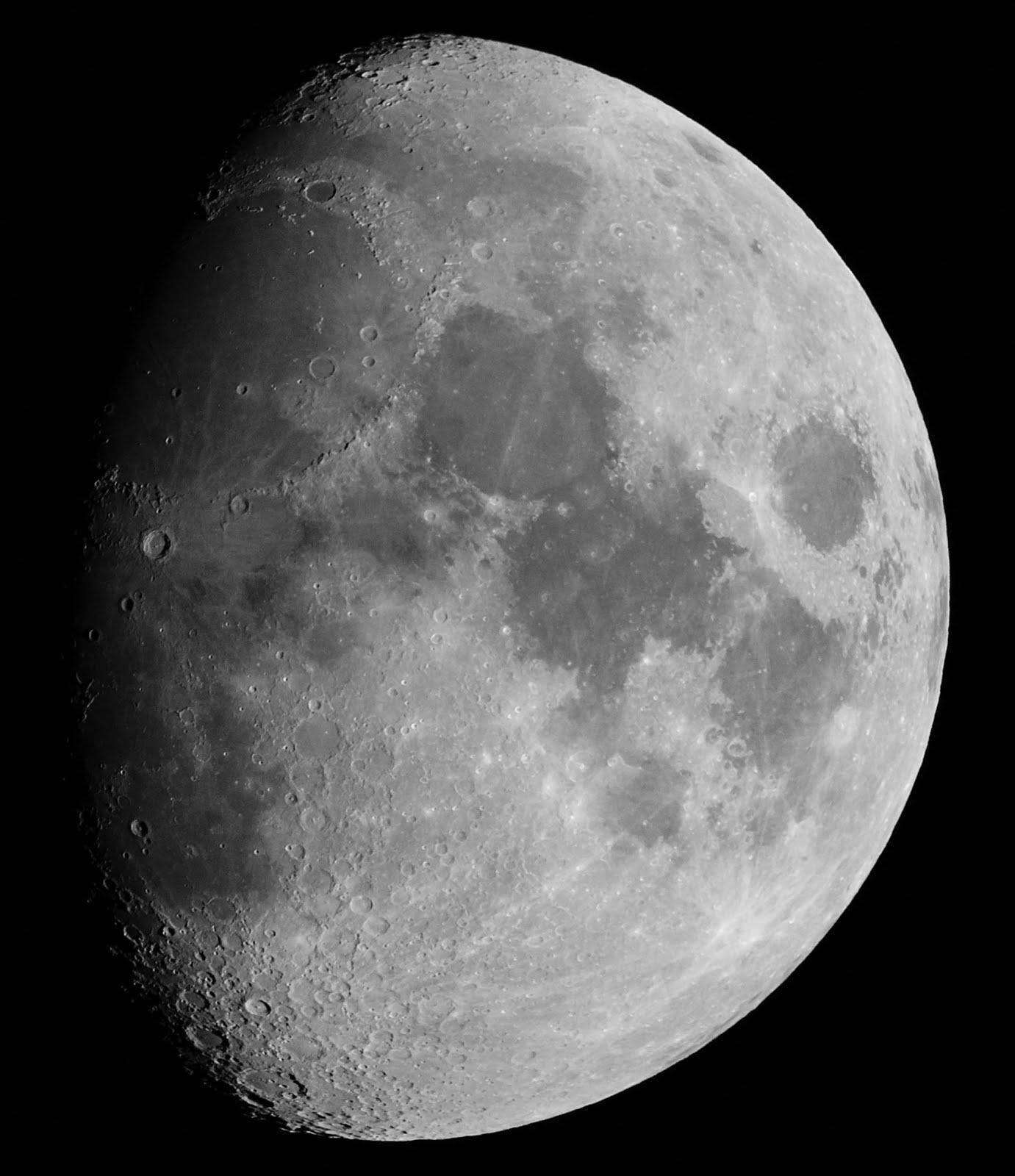 Lco astronomy highlights la luna en cuarto creciente for Cuarto menguante de la luna