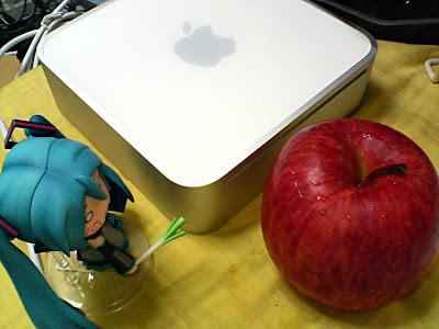 はちゅねさんとりんご