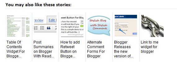 best related posts with thumbnails widget for blogger full installation