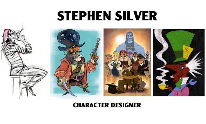 Character Design Stephen Silver Download : Stephen silver