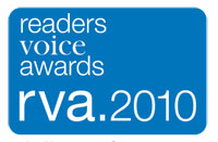 2010 Reader's Voice Award