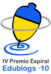 PREMIS ESPIRAL EDUBLOGS 2010!