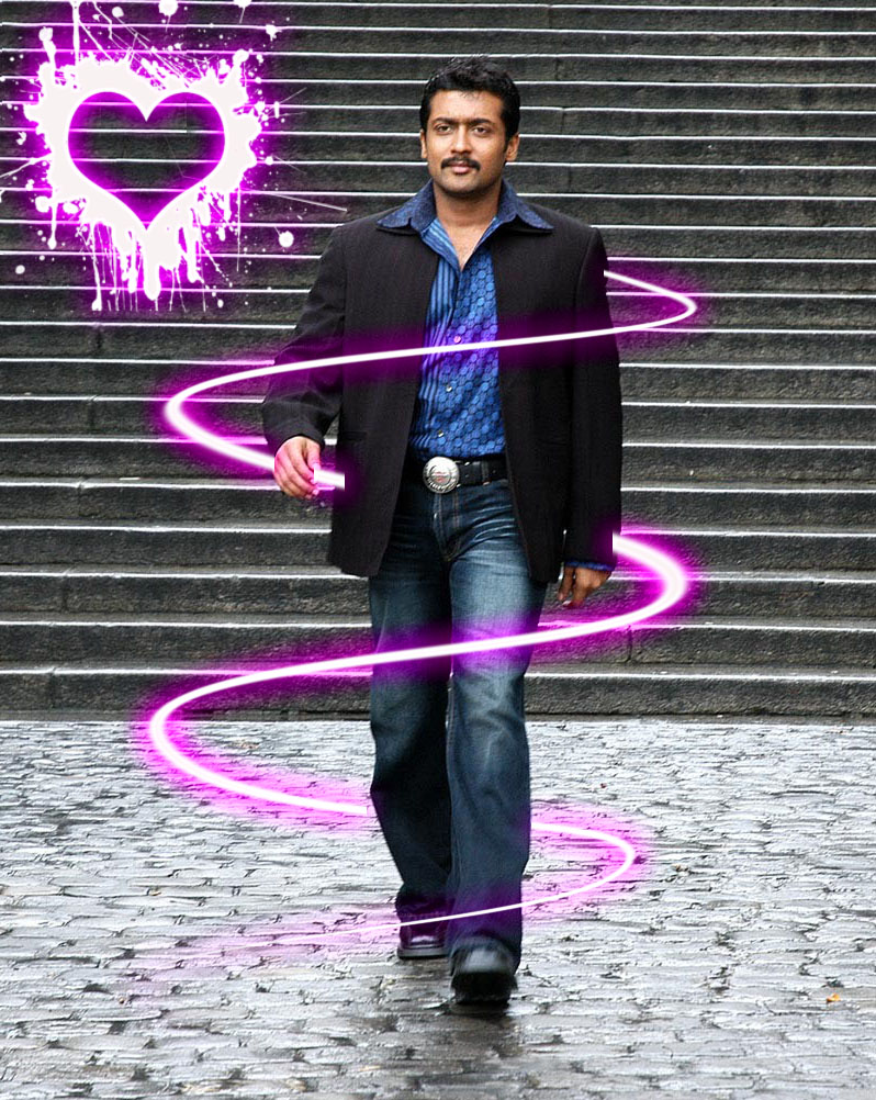 surya n movie wallpapers surya stylist photos surya in romantic