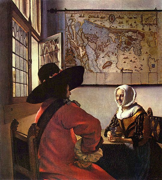 pieter de hooch and gerrit dou Pieter de hooch, hooch also spelled hoogh or hooghe, (baptized dec 20, 1629,  rotterdam, neth—buried march 24, 1684, amsterdam), dutch genre painter of.