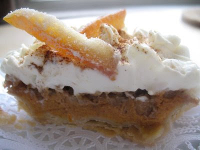 Pumpkin praline pie recipe