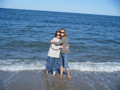 Mom and I at Seal Beach