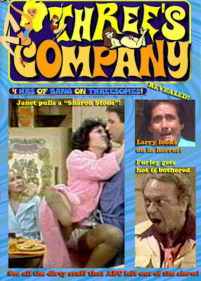 Not a real dvd. Well, there is a THREE'S COMPANY porno, but this isn't it.