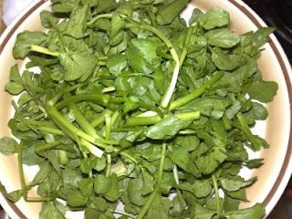 Little Inbox Recipe ~Eating Pleasure~: Watercress Vegetarian Soup
